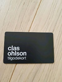 Clas Ohlson Credit Note Oslo