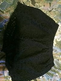black and gray floral textile Portage, 15946