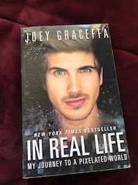 Joey Graceffa - In Real Life. Book  great condition  Sherwood Park, T8A 6M4