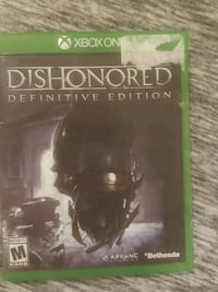 Dishonored definitive edition Xbox one Houston, 77027
