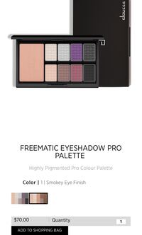 Doucce freematic pro eyeshadow palettes Surrey, V3R 2R9
