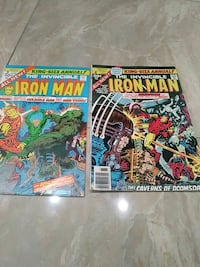 Iron man king size annuals 3 and 4