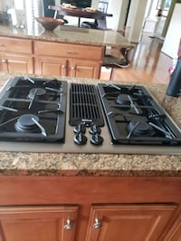 Stove top double oven