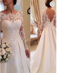 Women's Ivory wedding dress Fairfax, 22033
