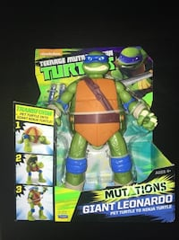 Brand new teenage mutant ninja turtle giant Leonardo pet Into ninja  Kettering, 45440