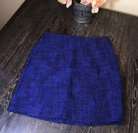 J.CREW BLUE SKIRT Washington, 20011