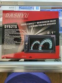 Dashyu DY62TS widescreen car Stereo