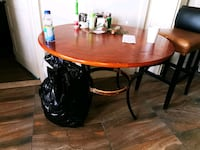 Antique Real wood dining table
