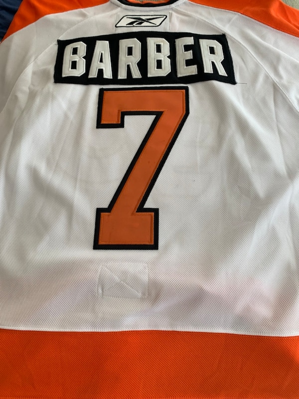 4cba94dcfd22e2 Philadelphia Flyers 2010 Winter Classic Jersey Bill Barber #7 Sz 54 with  Series Patch