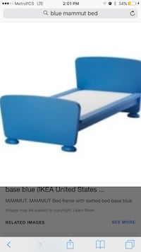 Ikea mammut twin bed Laurel, 20707