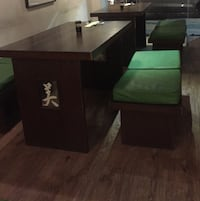 Table and cushioned benches for cafe and restaurants Kolkata, 700053