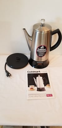 stainless steel and black electric kettle Brampton, L6Z