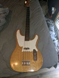 Maya 4 string bass with neck replacement