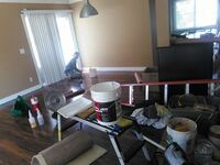 Residencial painting service interior. Long Beach, 90813