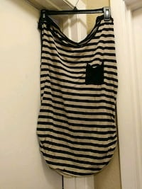black and white stripe tank top Fort Worth, 76106