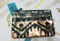 (NEW) Tribal Print Sequin Purse - Fixed Price Toronto