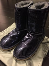 Brand New Short purple sequin ugg boots - Retainls for $190 Toronto