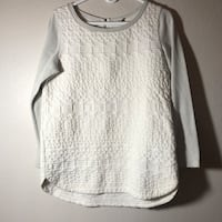 women's white scoop-neck sweater Moorpark, 93021