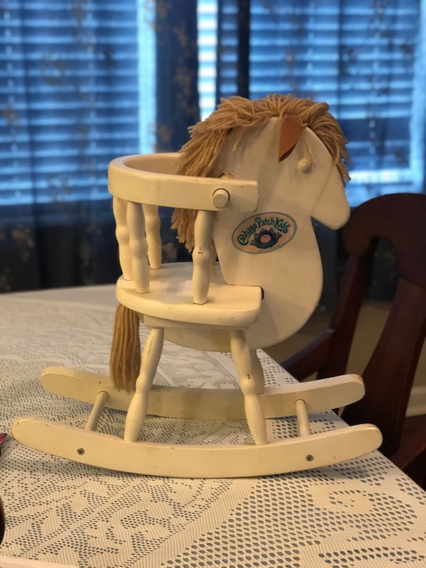Vintage Cabbage Patch Rocking Horse