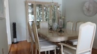 Italian Style Dining Room Table and Hutch MISSISSAUGA