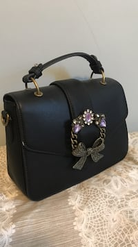Large Black Purse/Clutch Clovis, 93612