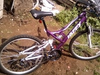 purple and white full-suspension mountain bike Oroville, 95966