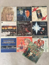 Christmas Theme Vinyl Record Set Virginia Beach, 23452