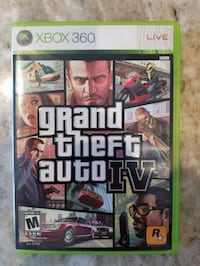 Xbox 360 Grand Theft Auto 4 Oakville, L6L 1W1