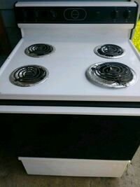 white and black 4-coil electric range oven Grovetown, 30813