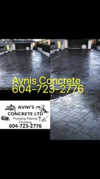 stamped concrete Burnaby