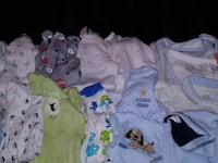 baby's assorted clothes Mission, 78574