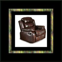 Burgundy recliner chair Silver Spring