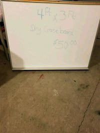 Wet/dry erase board Albany, 97322