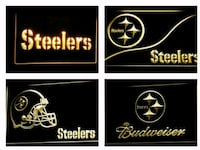 New Pittsburgh Steelers LED Neon Lights Mount Holly, 28120