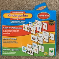 Lets Get Ready Kindergarten Learning Library