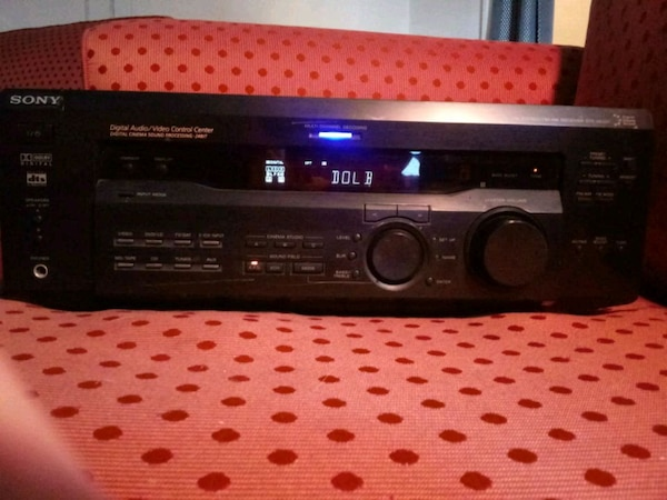 Sony str-se501 5 1 surround sound receiver