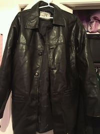 black leather button-up jacket Halifax, B3K 2Y9