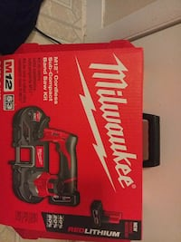Milwaukee cordless impact wrench box Temple Hills, 20748