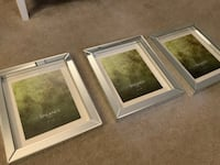 TAHARI HOME pictures frame 8x10 New set of threee