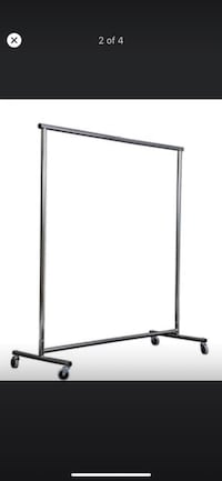 Clothing rack commercial and Indus Mississauga, L5R 3R9