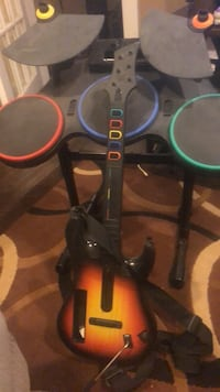 Guitar hero and band hero stuff?? For Wii. Make an offer  Surrey, V3R 0A4