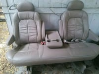 two white leather car seats Spring Valley, 91977