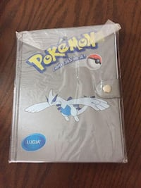 New Pokémon Lugia Silver Binder
