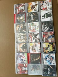 assorted PS3 game case lot Stockton, 95212
