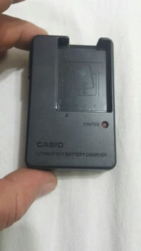 Casio lithhium ion battery  charger