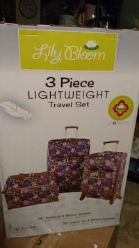 Lily bloom 3 pc light weight travel set Clio, 48420