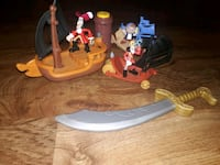 Jake and the never land pirate's toys all for $5 Foley