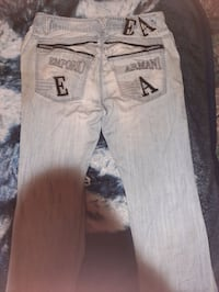 Size 34 Mens Emporio Armani Jeans Used Calgary, T2A 5G8