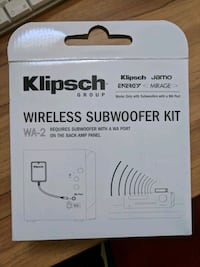 Klipsch Wireless subwoofer kit Herndon, 20171