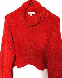 Cropped Turtleneck Sweater Vaughan, L6A 4H6